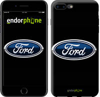 "Чехол на iPhone 7 Plus Ford. Logo v3 ""3112c-337-9076"""