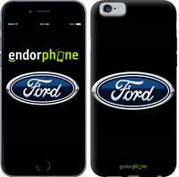 """Чехол на iPhone 6s Ford. Logo v3 """"3112c-90-9076"""""""