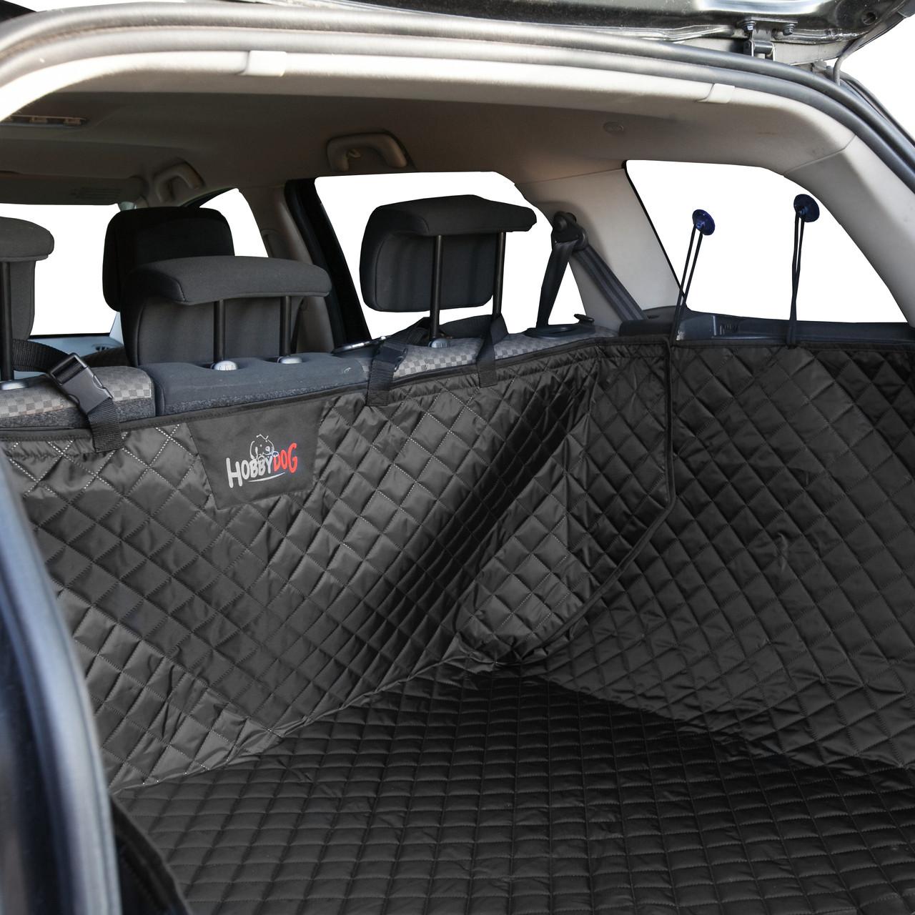 Защитная накидка авточехол в багажник авто для собак Hobby Dog