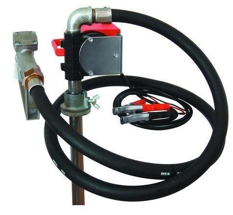 Насос бочковой  24В   40 л/мин для дизельного топлива