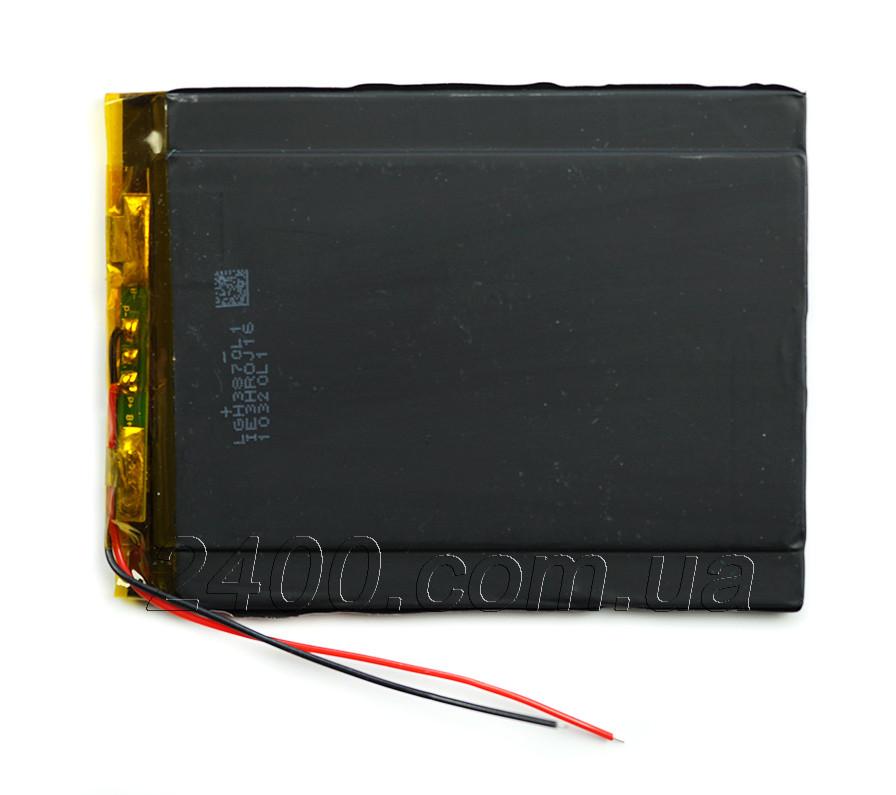 Аккумулятор 3000mAh 3,7в 356993 мм для планшетов Nomi Corsa C070010, Pro C070020 Pro (2pin) универсальный