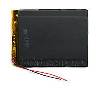 Аккумулятор для планшета (3000mAh) Bravis, ImPAD, Assistant, Jeka, Prestigio 3,7в - по размерам 3.5*69*93 мм