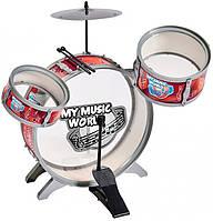 Барабанная установка со стульчиком, My Music World