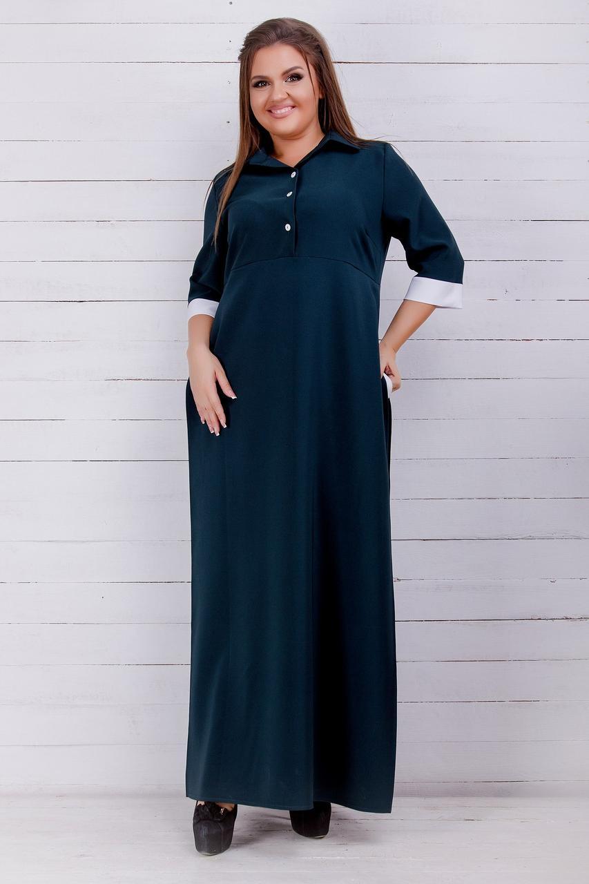 Стильне жіноче плаття (42-60) 8196
