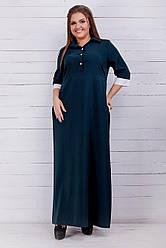Стильное женское платье (42-60) 8196