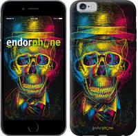 "Чехол на iPhone 6 3D скелет ""2868c-45-9076"""