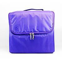 Тканевая сумка для косметики - CaseLife А-65 Фиолетовая - A65-PURPLE