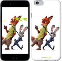 """Чехол на iPhone 6 Зверополис v2 """"3419c-45-9076"""""""
