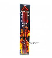 Шампура в наборе 6шт 60см с деревянными ручками