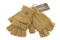 Женские перчатки Terranova_002 mustard