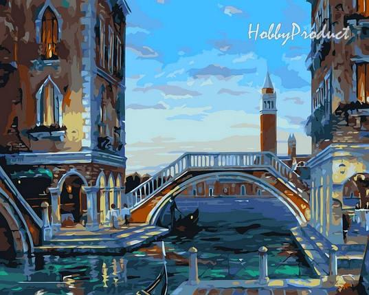 """VP045 Раскраска по номерам """"Вечер в Венеции худ. Финале Роберт"""", фото 2"""