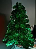 """Новогодняя подвеска из фольги """"Елка"""", 35 см"""