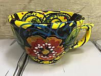 Чашка керамическая 500 мл (ручная работа), фото 1