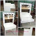 Стол для визажиста, туалетный столик , зеркало с подсветкой, фото 2