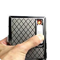 Зажигалка- портсигар на 15 сигарет.
