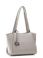 Модная сумка женская кожаная с тиснением L-15823