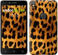 """Чехол на iPhone X Шкура леопарда """"238c-1050-9076"""""""