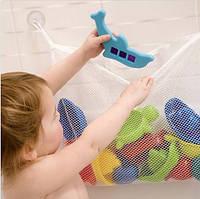 Сетка органайзер для игрушек в ванную