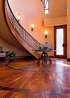 Клёпаные кованые перила для лестницы