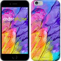 "Чехол на iPhone 6s Разноцветные краски ""2273c-90-9076"""