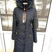 Женское зимнее приталенное пальто в классическом стиле