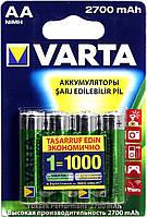 Акумулятор VARTA RECHARGEABLE ACCU AA 2700mAh BLI 4 NI-MH (READY 2 USE) R6