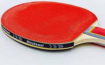 Набор для настольного тенниса 2 ракетки, 3 мяча MK 0204, фото 3