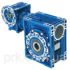 Мотор-редукторы червячные двухступенчатые   RV 040/075