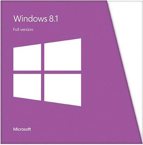 Microsoft Windows 8.1 SL x64 Russian, DVD, OEM (4HR-00205)
