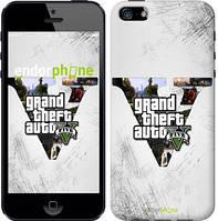 "Чехол на iPhone 5 GTA 5 ""629c-18-9076"""