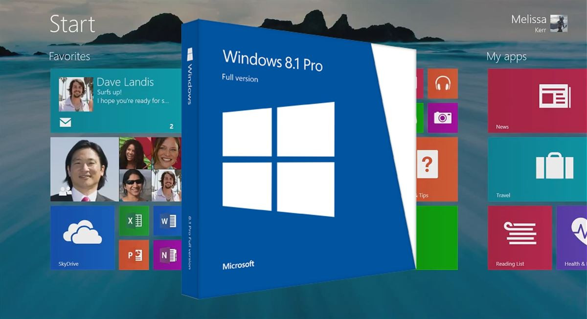 Microsoft Windows 8.1 Pro x64, English, DVD, OEM (FQC-06949)