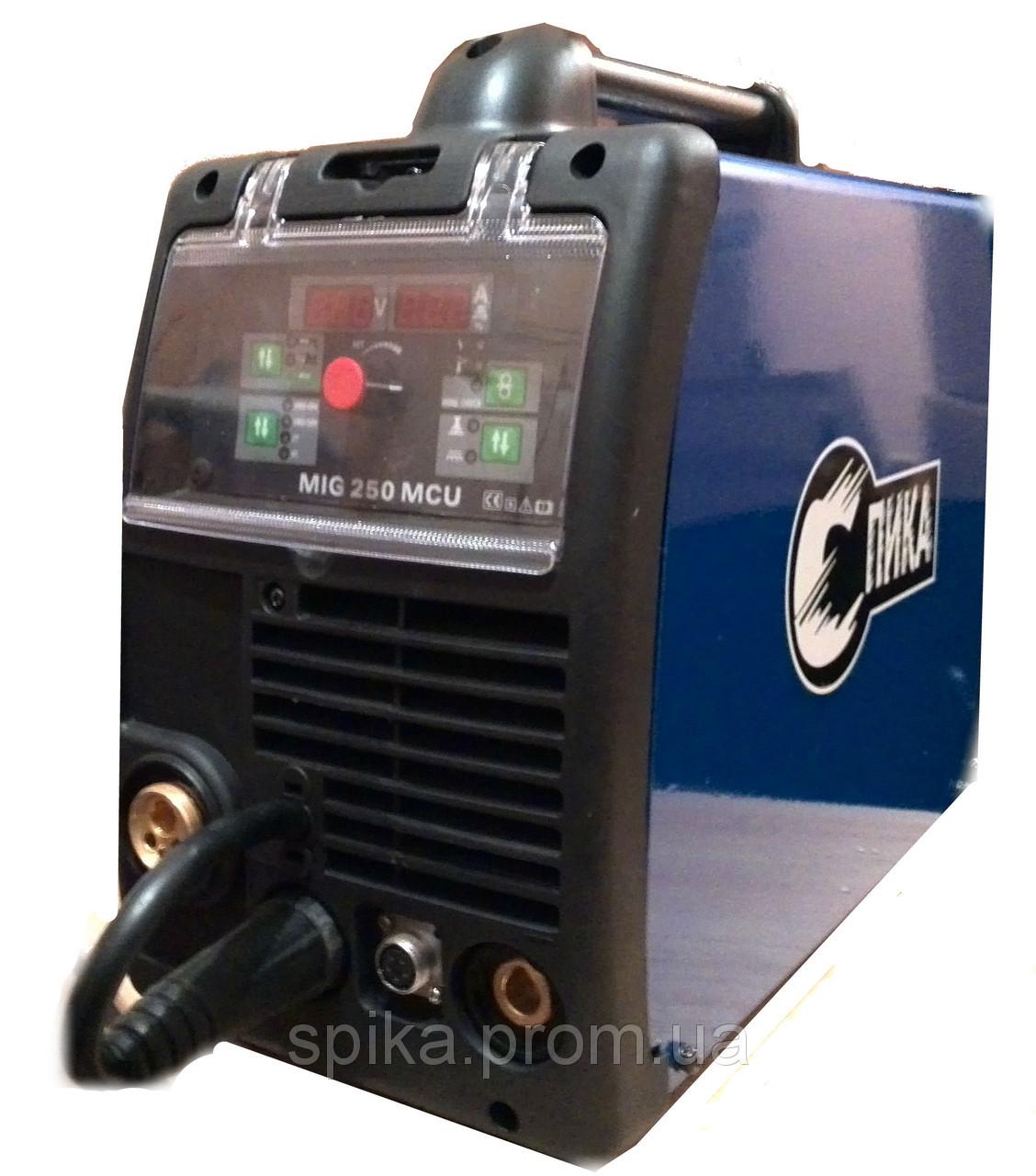 Инверторный полуавтомат СПИКА MIG 250MCU