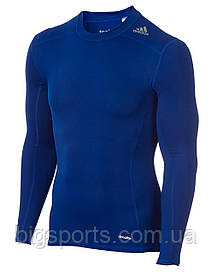 Футболка с длинным рукавом компрессионная муж. Adidas Techfit Base Long Sleeve Tee (арт. AJ5018)
