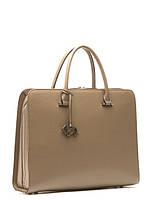 Стильная сумка-портфель женская кожаная L-13252-1