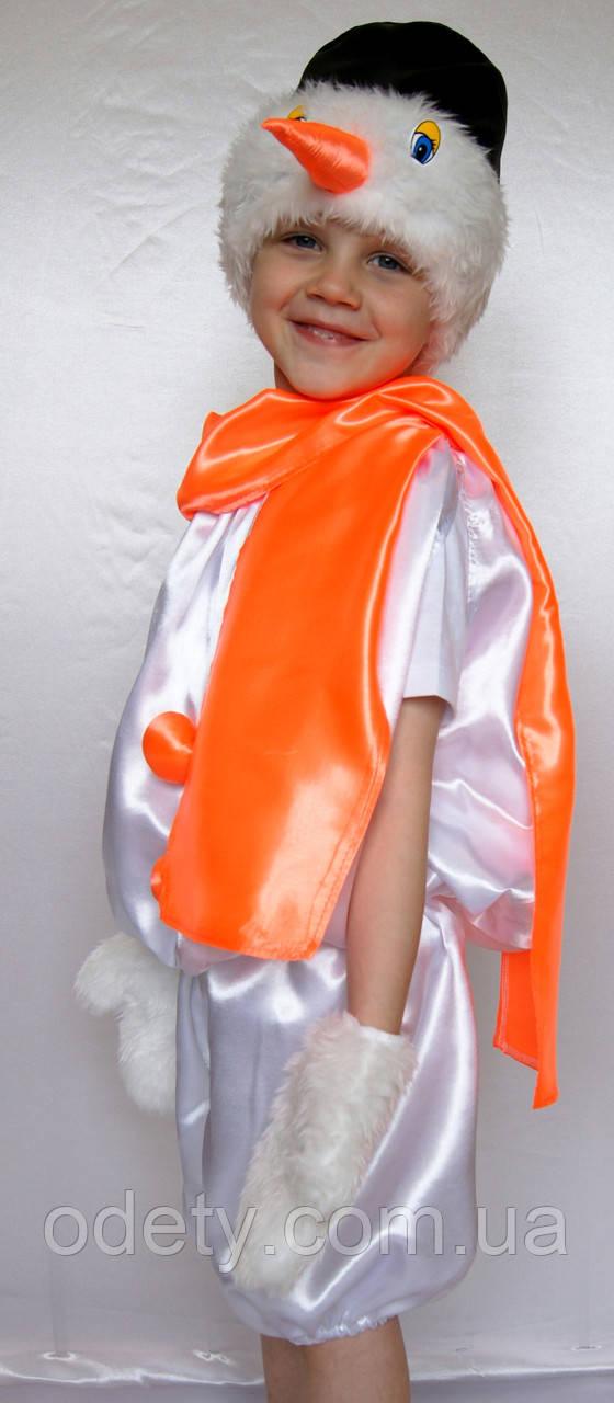 Новогодний костюм Снеговика. Костюм карнавальный для ... - photo#50