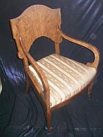 "Реставрация антикварного кресла""Ампир"""