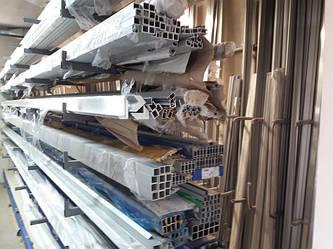 Поступление на киевский склад алюминиевых профилей