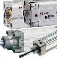 Цилиндры с корпусом ISO6431 и ISO15552 + АКСЕССУАРЫ