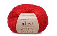 Alize Merino Royal красный №56