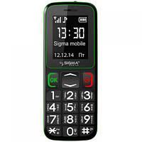 Мобильный телефон Sigma Comfort 50 mini3 (Black Green)
