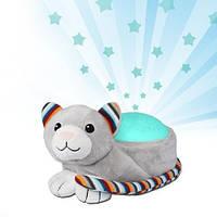 ZAZU - Ночник проектор звёздного неба с мелодиями Котик KIKI