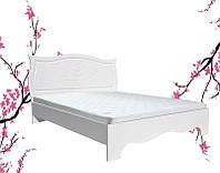 Кровать полуторная Роза 140 (Неман)