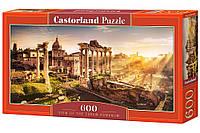 "Пазлы  600 ""Римский форум""   Castorland"