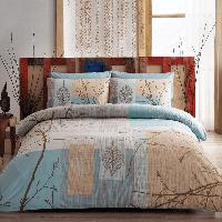 Комплект постельного  белья из ранфорс тас семейный размер Laurel