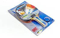 Набор для настольного тенниса 1 ракетка, 2 накладки DONIC LEVEL 500-700 МТ-752545 BAT QRC