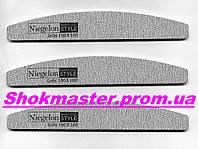 Пилочка для ногтей Niegelon 100/100 Half серая