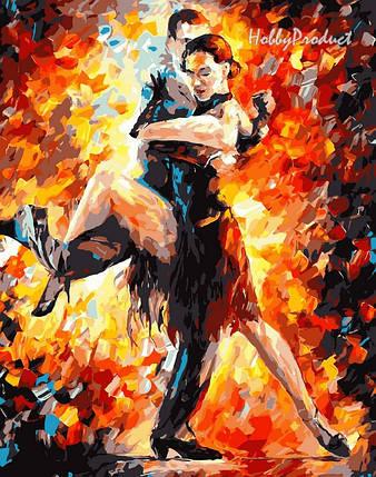Набор-раскраска по номерам Радостное танго худ. Афремов Леонид, фото 2