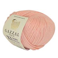 Пряжа Gazzal Baby Wool XL 834 Детская Полушерстяная