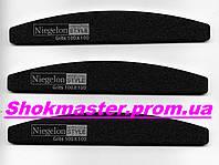 Пилочка для ногтей Niegelon 100/100 Half черная
