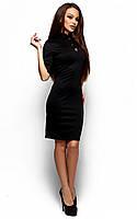 Вечірнє чорне трикотажне плаття Benny (S, M, L)